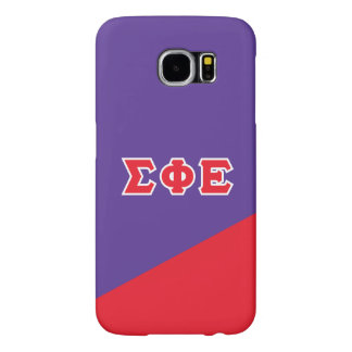 Sigma Phi Epsilon | Greek Letters Samsung Galaxy S6 Cases