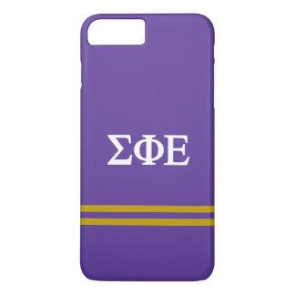 Sigma Phi Epsilon | Sport Stripe iPhone 8 Plus/7 Plus Case