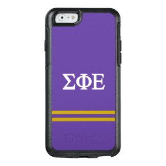 Sigma Phi Epsilon | Sport Stripe OtterBox iPhone 6/6s Case