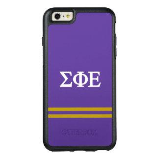 Sigma Phi Epsilon | Sport Stripe OtterBox iPhone 6/6s Plus Case