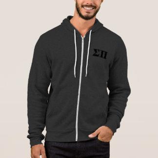 Sigma Pi Black Letters Hoodie