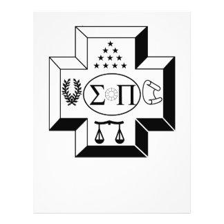Sigma Pi Cross B+W Flyer