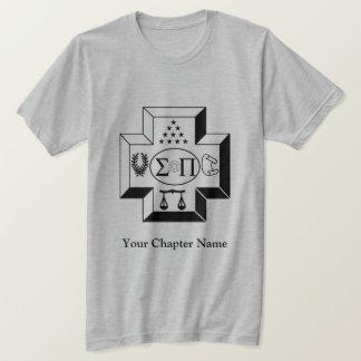 Sigma Pi Cross B+W T-Shirt