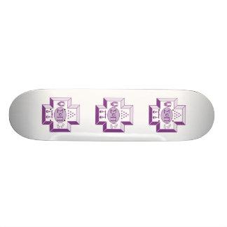 Sigma Pi Cross Color 21.3 Cm Mini Skateboard Deck