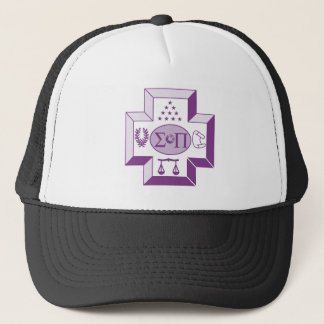 Sigma Pi Cross Color Trucker Hat