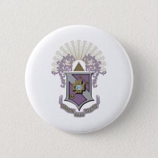 Sigma Pi Good Crest 4-C 6 Cm Round Badge