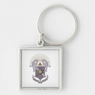 Sigma Pi Good Crest 4-C Key Ring