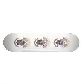 Sigma Pi Good Crest 4-C Skateboard Deck