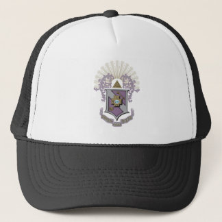 Sigma Pi Good Crest 4-C Trucker Hat