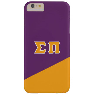 Sigma Pi | Greek Letters Barely There iPhone 6 Plus Case