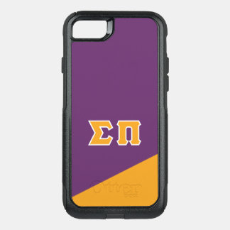 Sigma Pi | Greek Letters OtterBox Commuter iPhone 8/7 Case