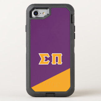 Sigma Pi | Greek Letters OtterBox Defender iPhone 8/7 Case