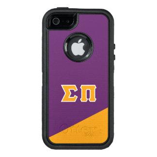 Sigma Pi | Greek Letters OtterBox Defender iPhone Case
