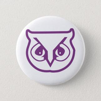 Sigma Pi Owl Color 6 Cm Round Badge