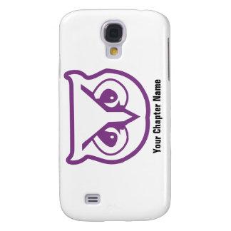 Sigma Pi Owl Color Galaxy S4 Case