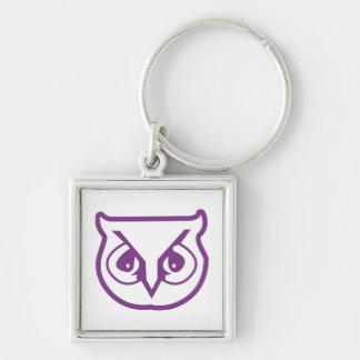 Sigma Pi Owl Color Key Ring
