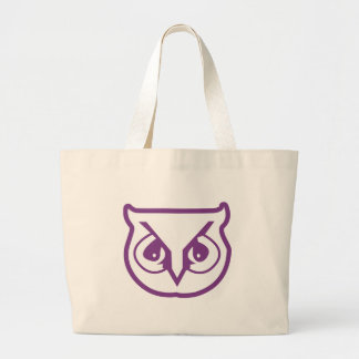 Sigma Pi Owl Color Large Tote Bag
