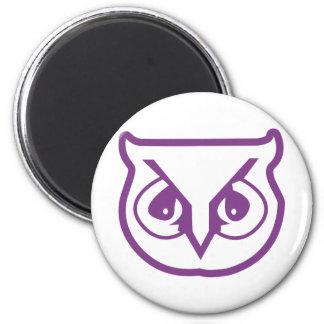 Sigma Pi Owl Color Magnet