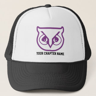Sigma Pi Owl Color Trucker Hat