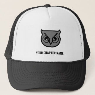 Sigma Pi Owl Gray Trucker Hat