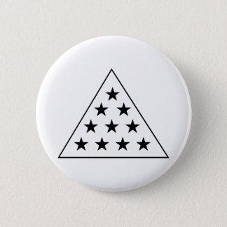 Sigma Pi Pyramid B+W 6 Cm Round Badge
