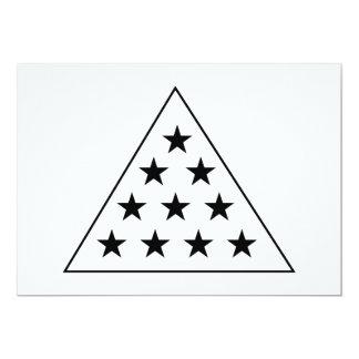 Sigma Pi Pyramid B+W Card