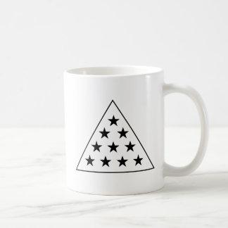 Sigma Pi Pyramid B+W Coffee Mug