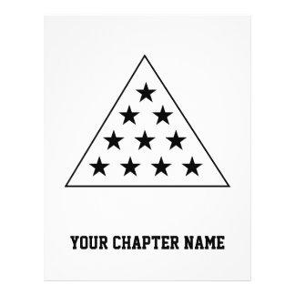 Sigma Pi Pyramid B+W Flyer