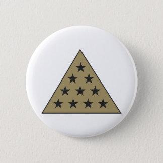 Sigma Pi Pyramid Gold 6 Cm Round Badge