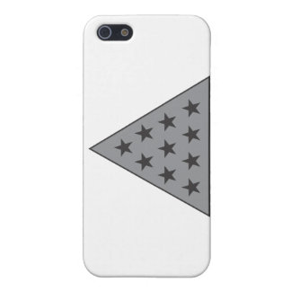 Sigma Pi Pyramid Gray Case For iPhone 5/5S