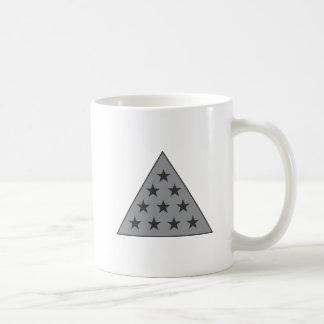 Sigma Pi Pyramid Gray Coffee Mug