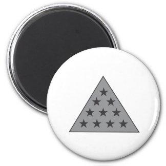Sigma Pi Pyramid Gray Magnet