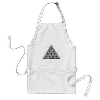 Sigma Pi Pyramid Gray Standard Apron