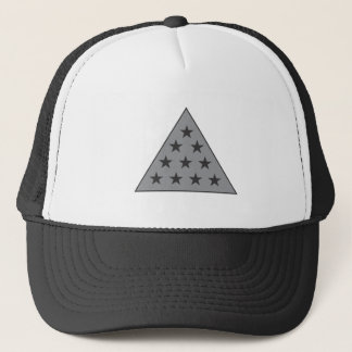 Sigma Pi Pyramid Gray Trucker Hat