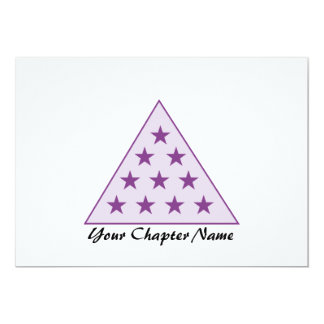 Sigma Pi Pyramid Purple Card