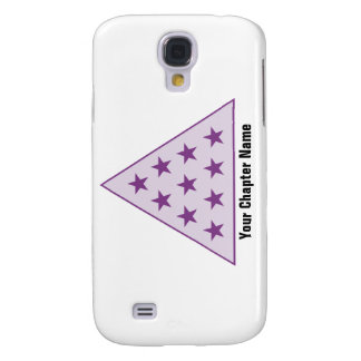 Sigma Pi Pyramid Purple Galaxy S4 Case