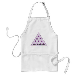 Sigma Pi Pyramid Purple Standard Apron