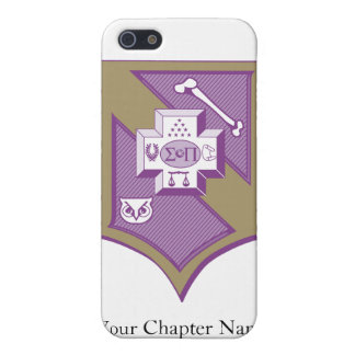 Sigma Pi Shield 2-Color Cover For iPhone 5/5S