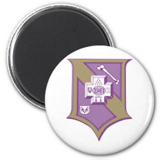 Sigma Pi Shield 2-Color Magnet