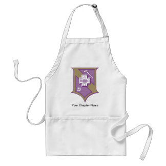 Sigma Pi Shield 2-Color Standard Apron