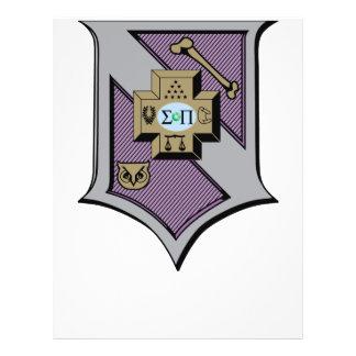 Sigma Pi Shield 4-Color Flyer