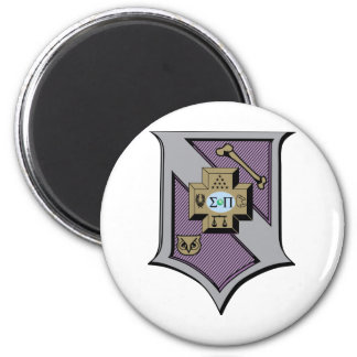 Sigma Pi Shield 4-Color Magnet