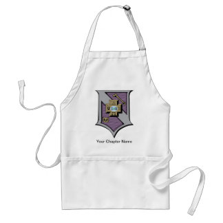 Sigma Pi Shield 4-Color Standard Apron