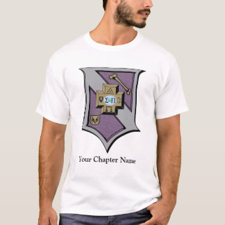 Sigma Pi Shield 4-Color T-Shirt
