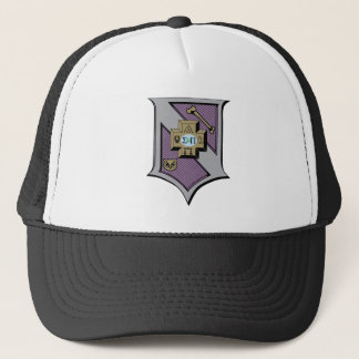 Sigma Pi Shield 4-Color Trucker Hat