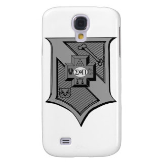 Sigma Pi Shield Grayscale Galaxy S4 Case