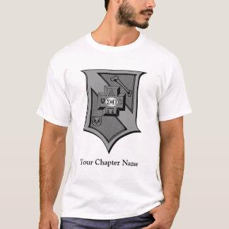 Sigma Pi Shield Grayscale T-Shirt
