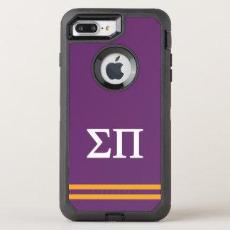 Sigma Pi | Sport Stripe OtterBox Defender iPhone 8 Plus/7 Plus Case