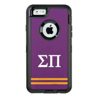 Sigma Pi | Sport Stripe OtterBox Defender iPhone Case