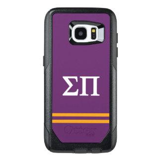 Sigma Pi | Sport Stripe OtterBox Samsung Galaxy S7 Edge Case